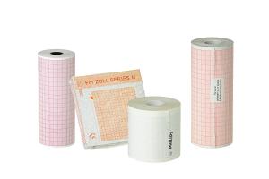 Papiery rejestrujące do defibrylacji